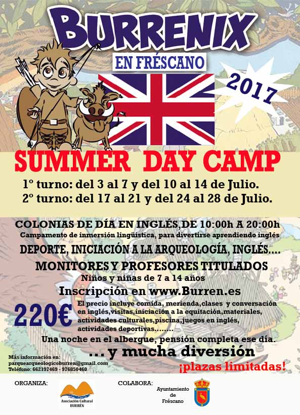 SUMMER DAY CAMP 2017
